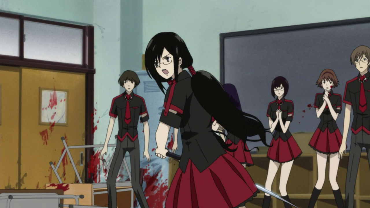 BLOOD C Non censur Int 16 streaming Episode 08 video Anime ...